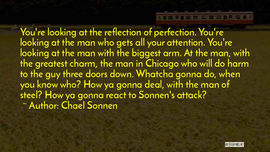 Whatcha Looking At Quotes By Chael Sonnen