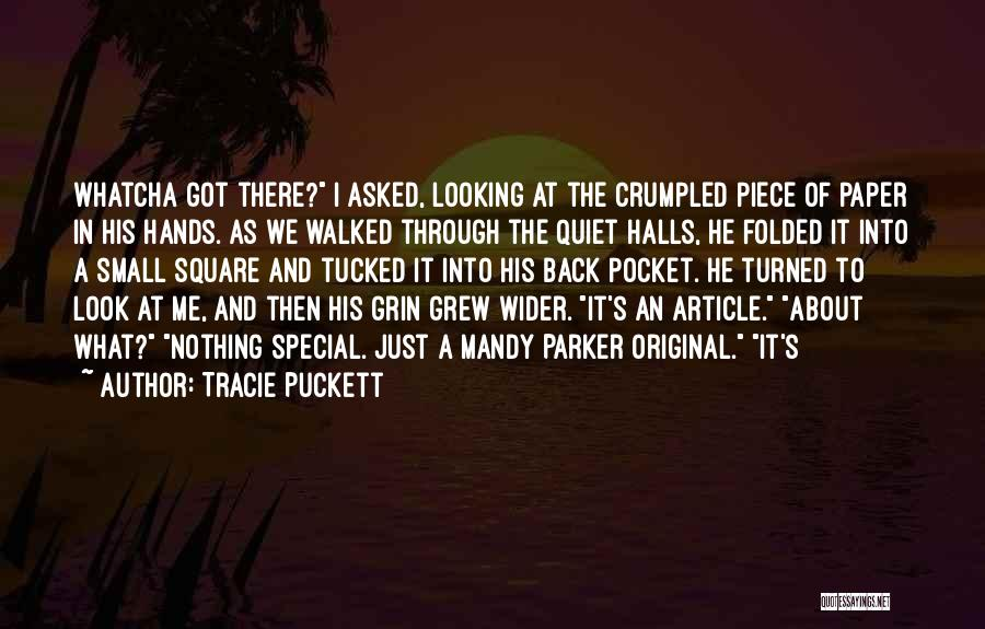 Whatcha Looking At Quotes By Tracie Puckett