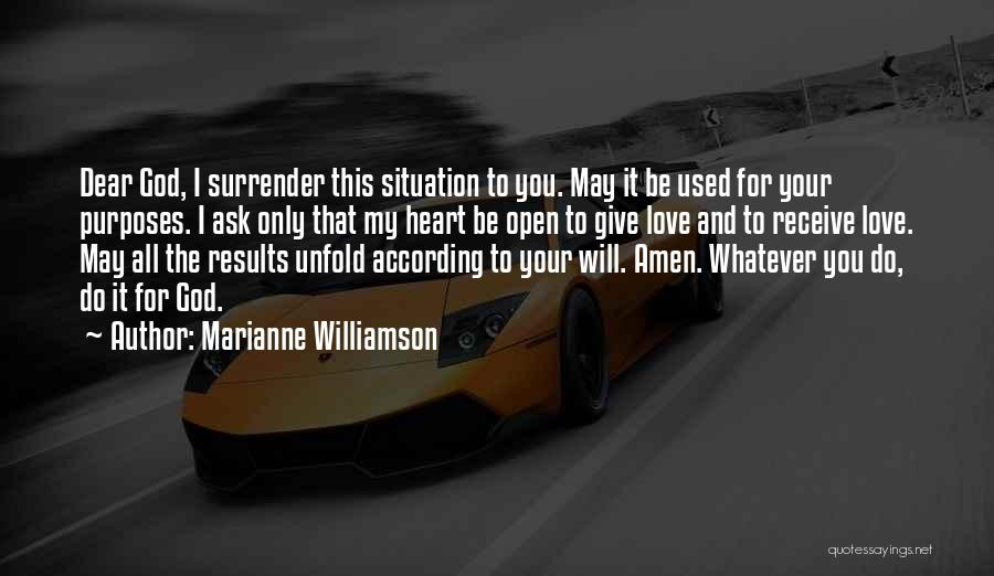 Whatever It May Be Quotes By Marianne Williamson