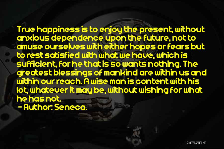Whatever It May Be Quotes By Seneca.