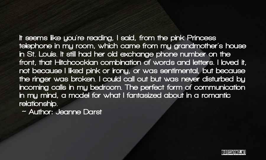 What's In Front Of You Quotes By Jeanne Darst