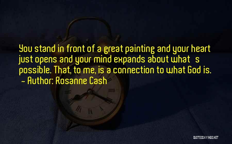 What's In Front Of You Quotes By Rosanne Cash