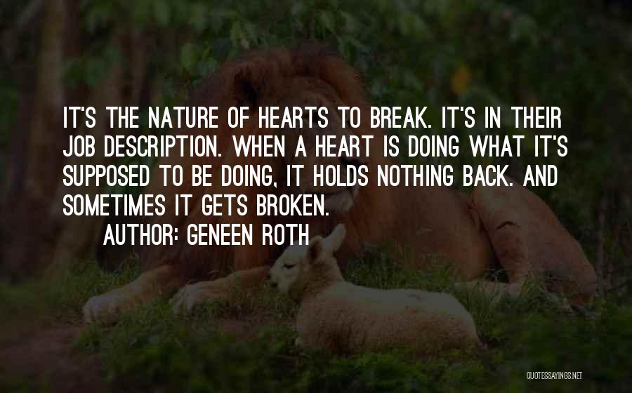 What's In The Heart Quotes By Geneen Roth