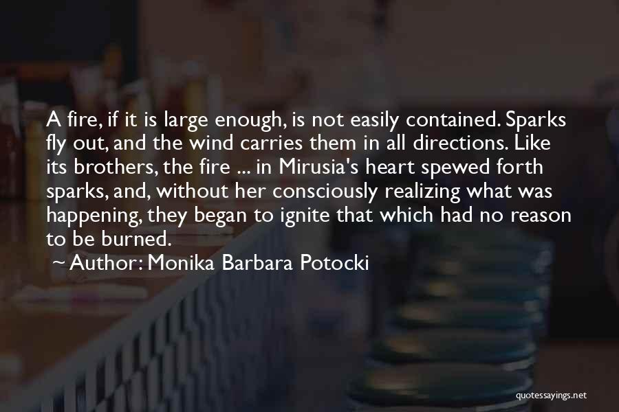 What's In The Heart Quotes By Monika Barbara Potocki