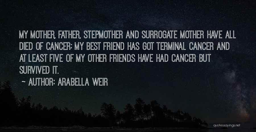 When A Friend's Mother Died Quotes By Arabella Weir