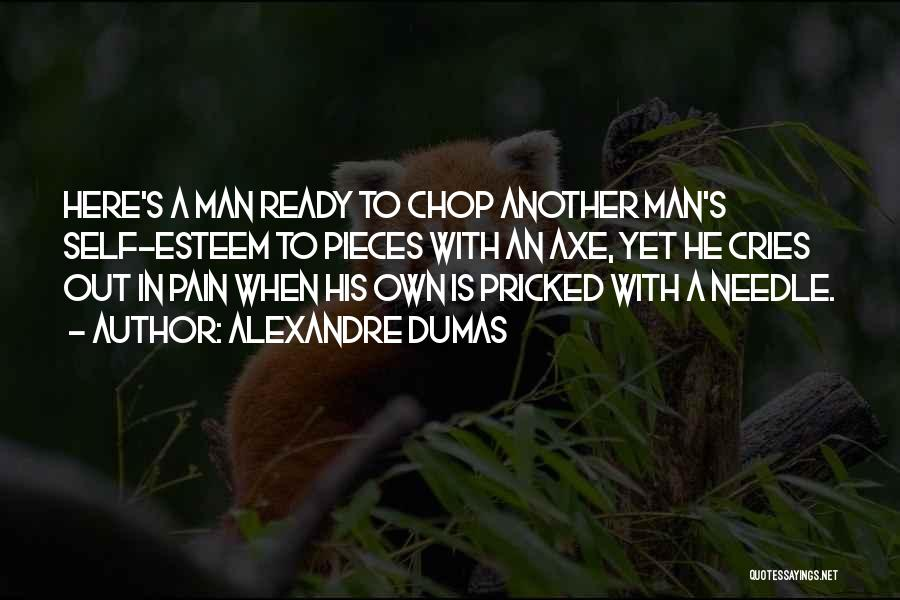 When A Man Cries Quotes By Alexandre Dumas