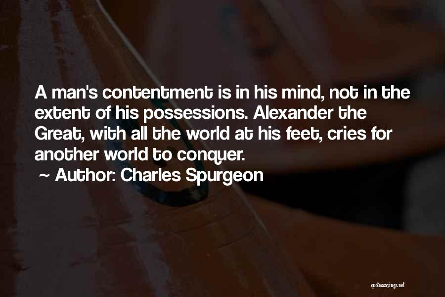 When A Man Cries Quotes By Charles Spurgeon