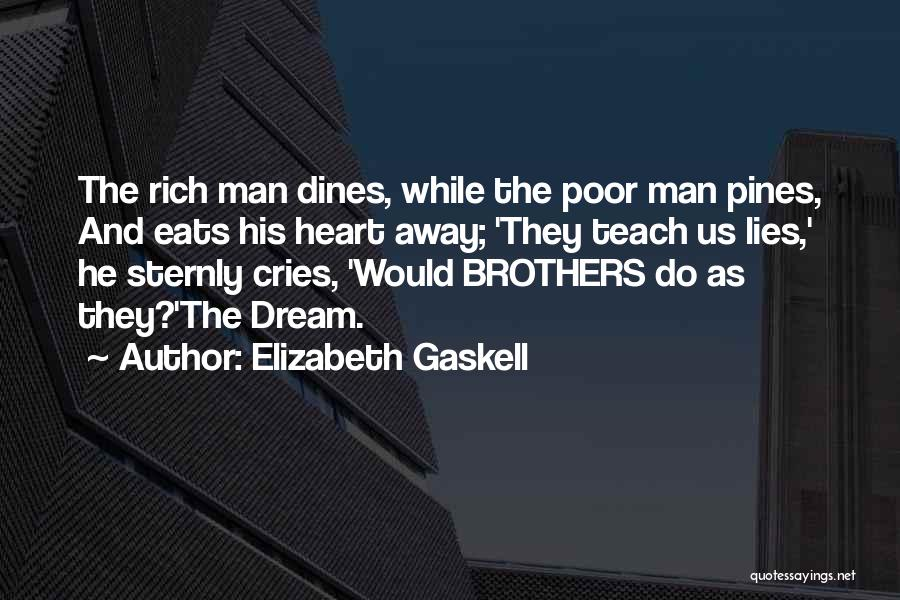 When A Man Cries Quotes By Elizabeth Gaskell