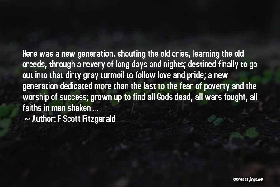 When A Man Cries Quotes By F Scott Fitzgerald
