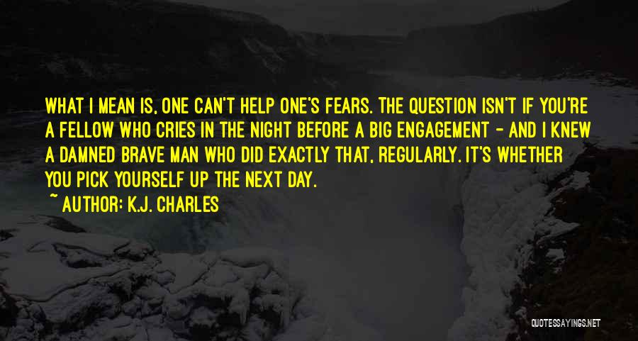 When A Man Cries Quotes By K.J. Charles