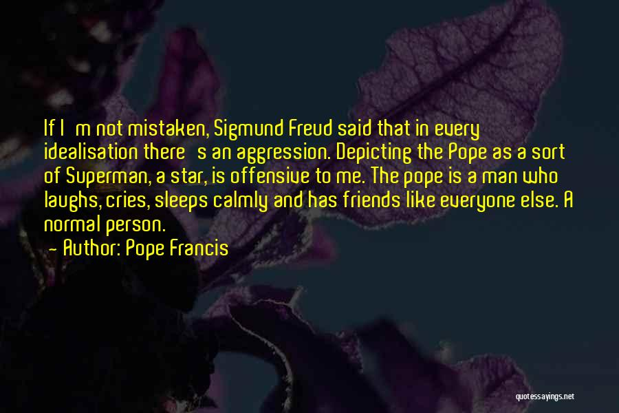 When A Man Cries Quotes By Pope Francis