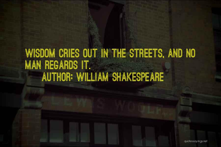 When A Man Cries Quotes By William Shakespeare