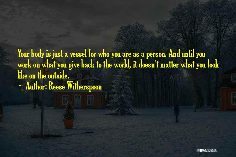 When A Person Doesn't Like You Back Quotes By Reese Witherspoon