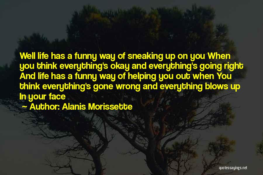 When Funny Quotes By Alanis Morissette