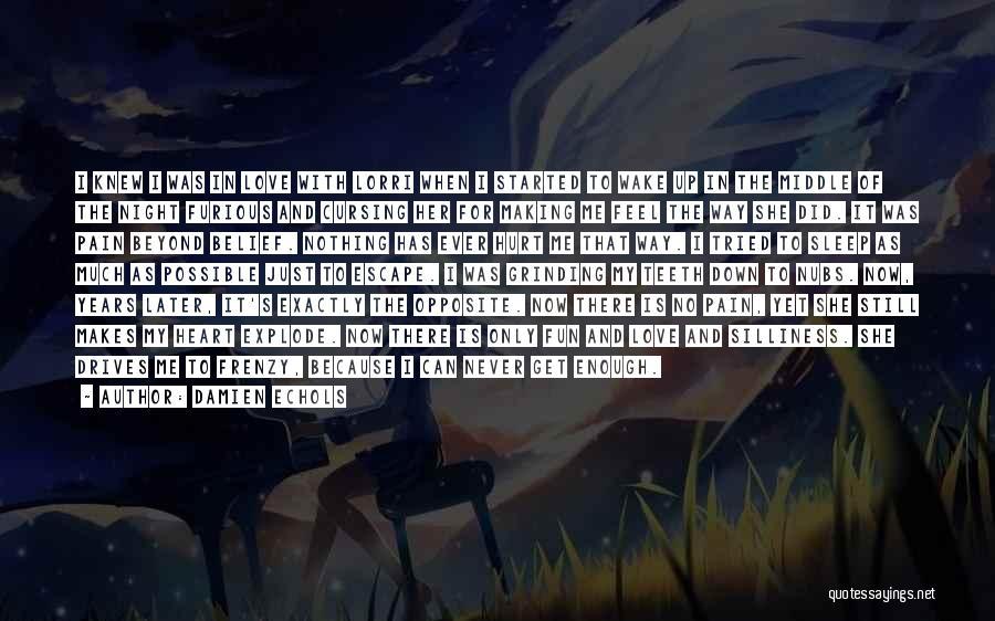 When Get Hurt Quotes By Damien Echols