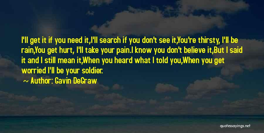 When Get Hurt Quotes By Gavin DeGraw