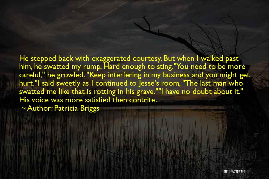When Get Hurt Quotes By Patricia Briggs