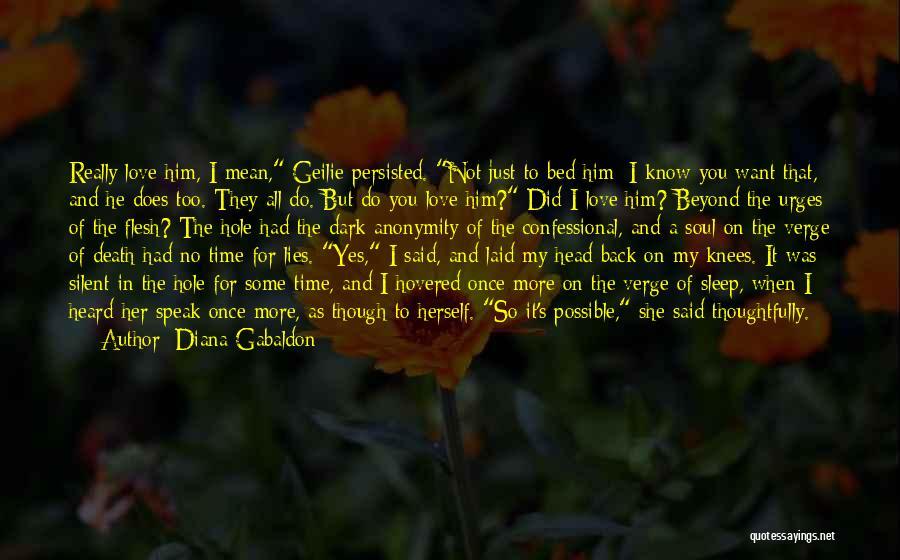 When He Lies Quotes By Diana Gabaldon