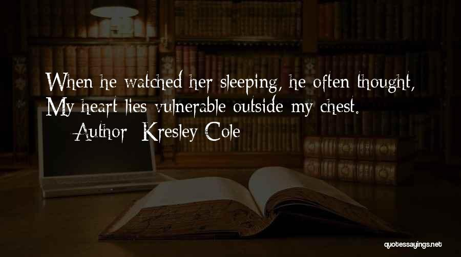 When He Lies Quotes By Kresley Cole