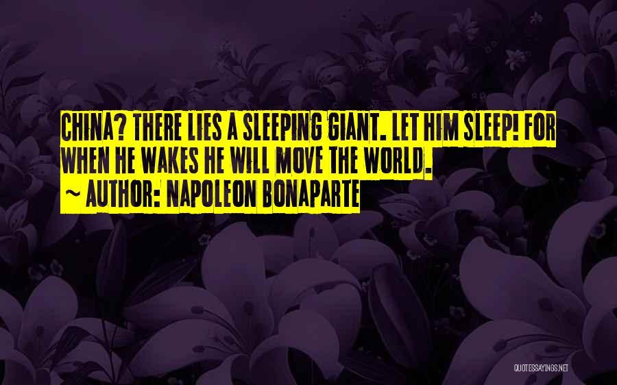 When He Lies Quotes By Napoleon Bonaparte