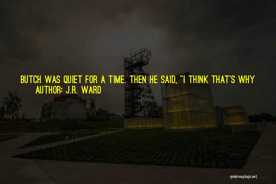 When I See You Sad Quotes By J.R. Ward