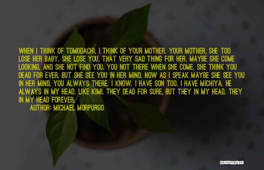 When I See You Sad Quotes By Michael Morpurgo