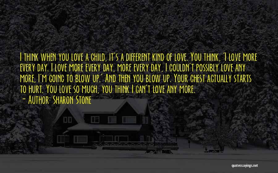 When I Think Of You Love Quotes By Sharon Stone