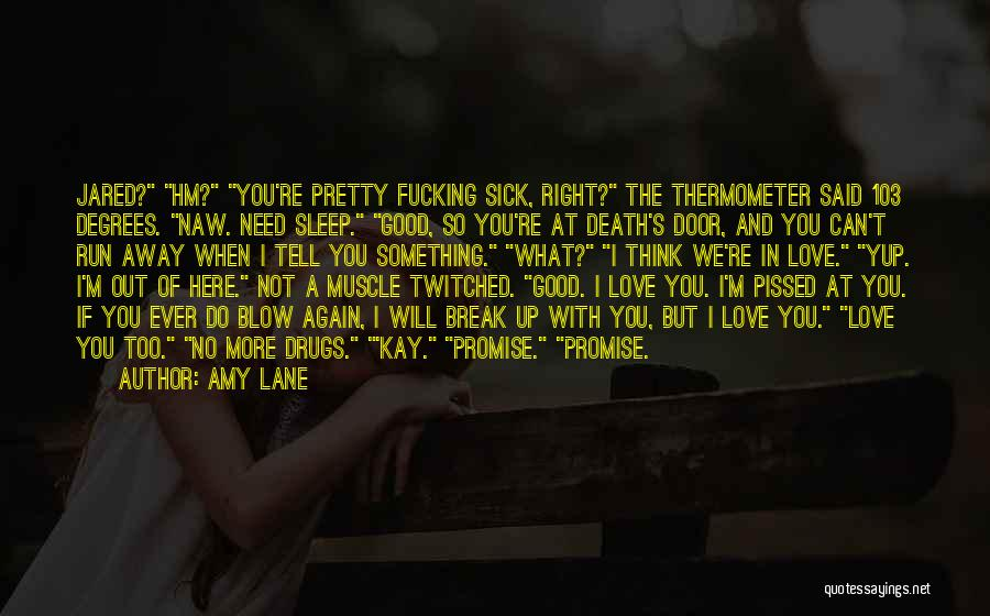 When I'm Sick Quotes By Amy Lane