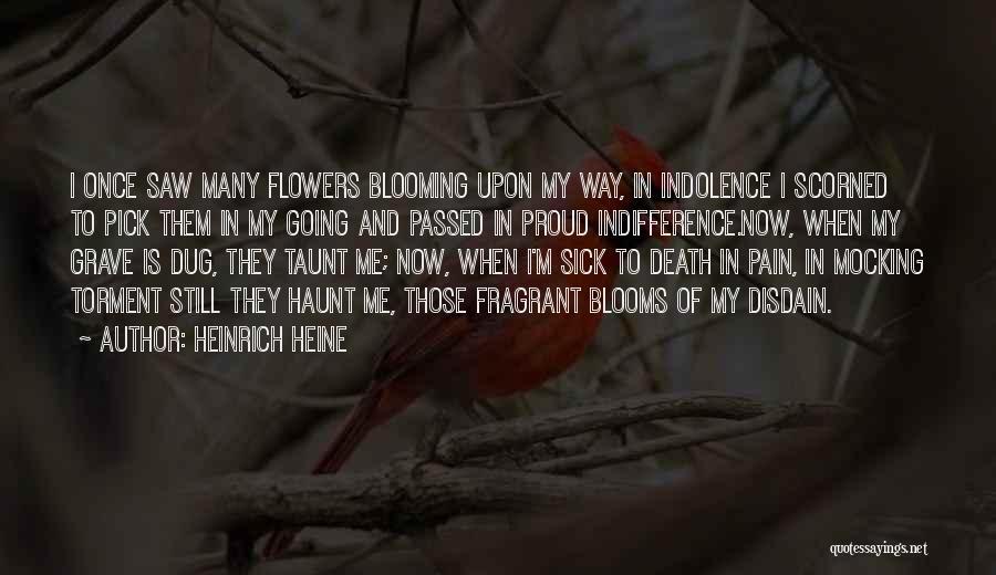 When I'm Sick Quotes By Heinrich Heine