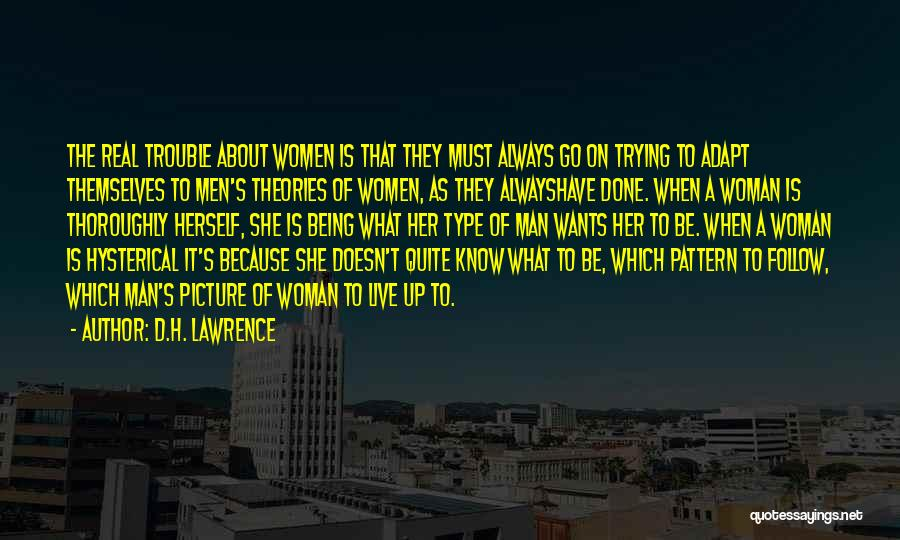 When It's Real Quotes By D.H. Lawrence