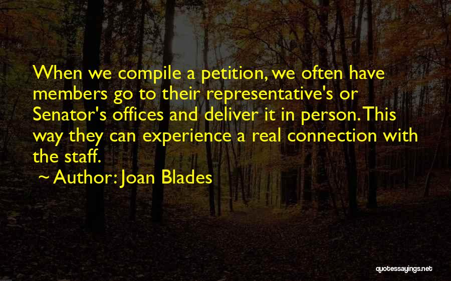 When It's Real Quotes By Joan Blades
