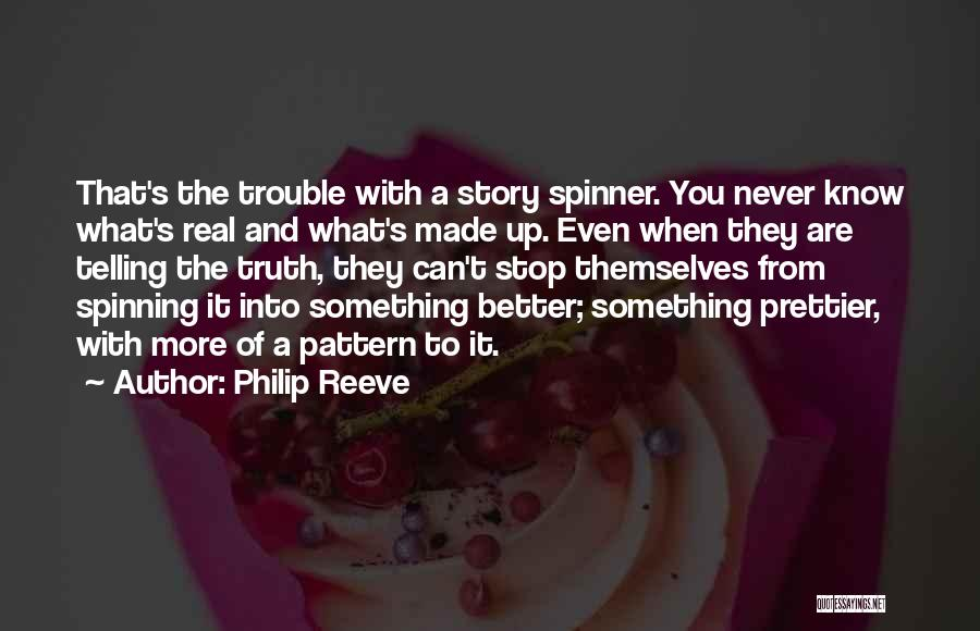 When It's Real Quotes By Philip Reeve