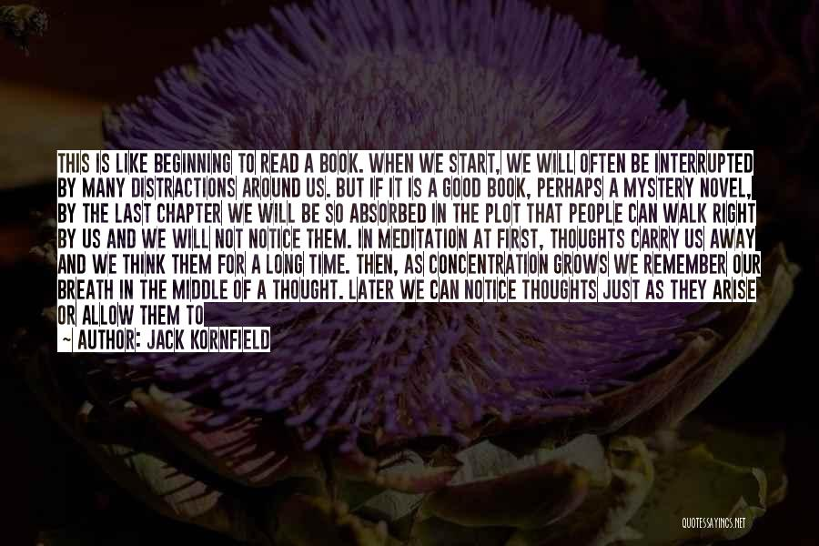 When It's Time To Walk Away Quotes By Jack Kornfield