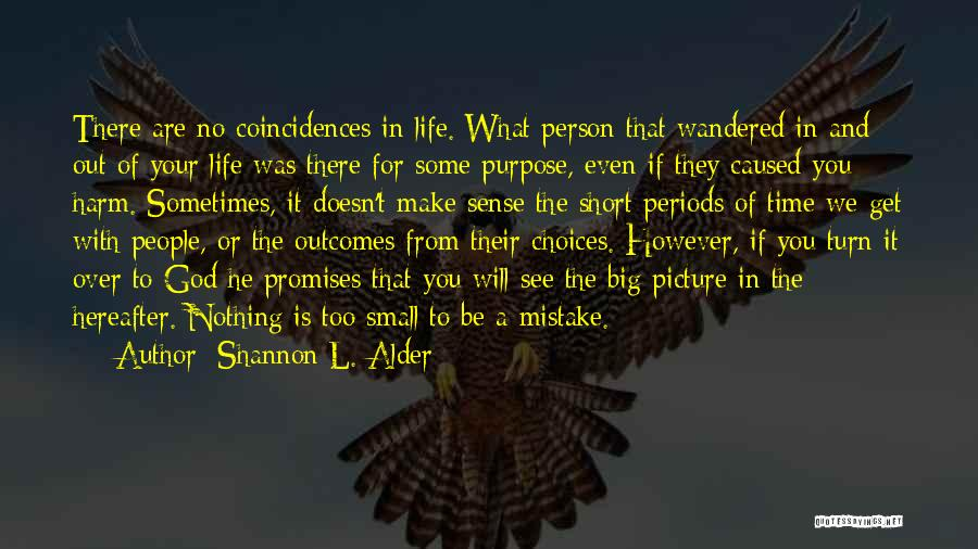 When Life Doesn't Make Sense Quotes By Shannon L. Alder
