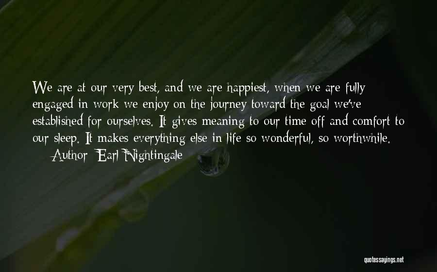 When Life Gives Quotes By Earl Nightingale