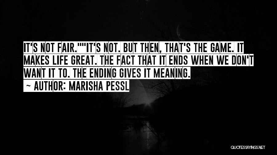 When Life Gives Quotes By Marisha Pessl