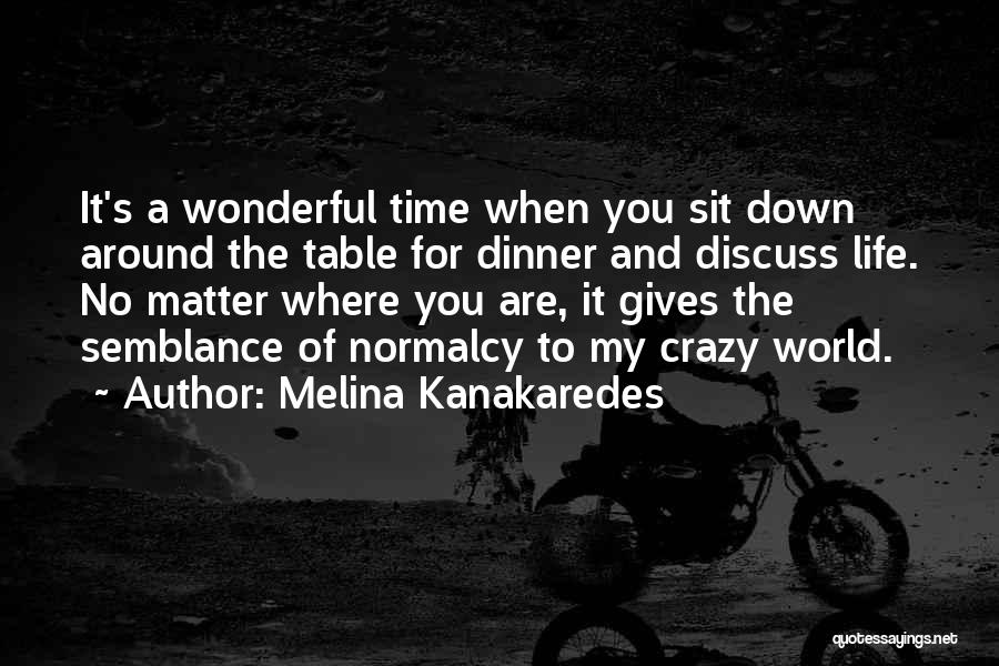 When Life Gives Quotes By Melina Kanakaredes