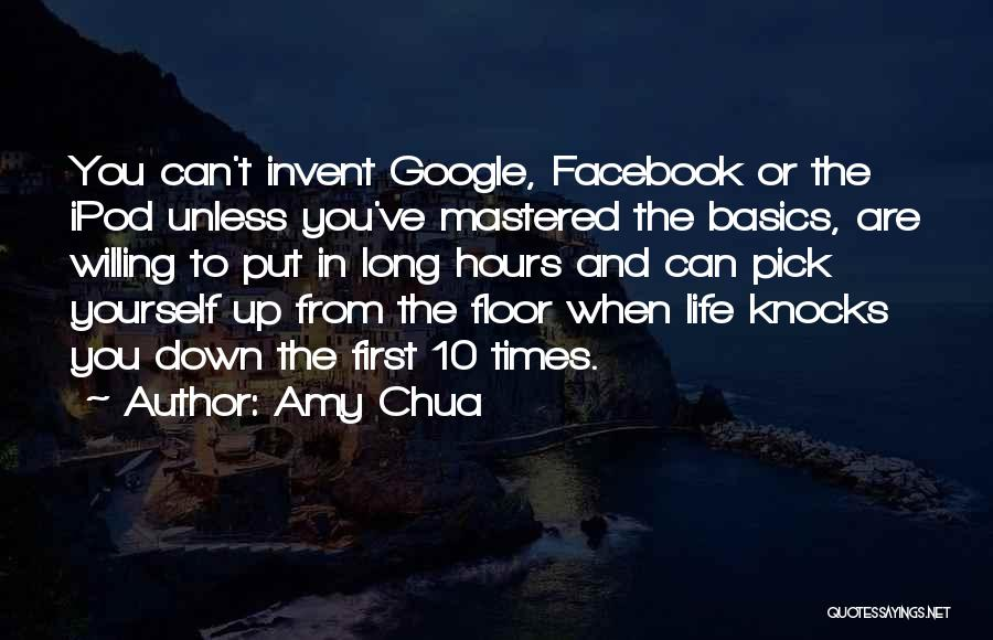 When Life Knocks U Down Quotes By Amy Chua