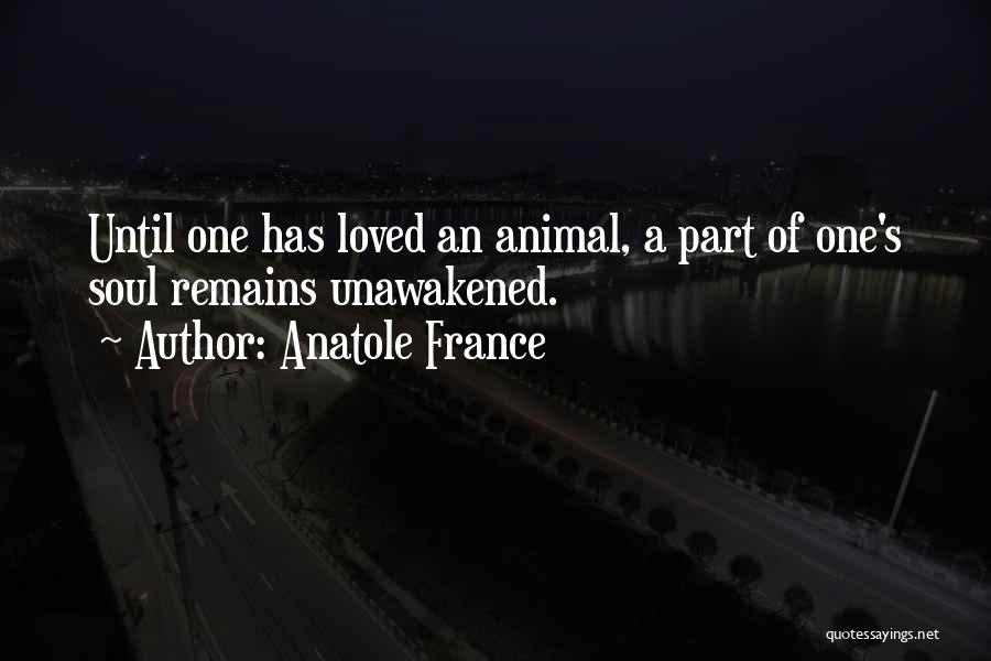 When Only Love Remains Quotes By Anatole France