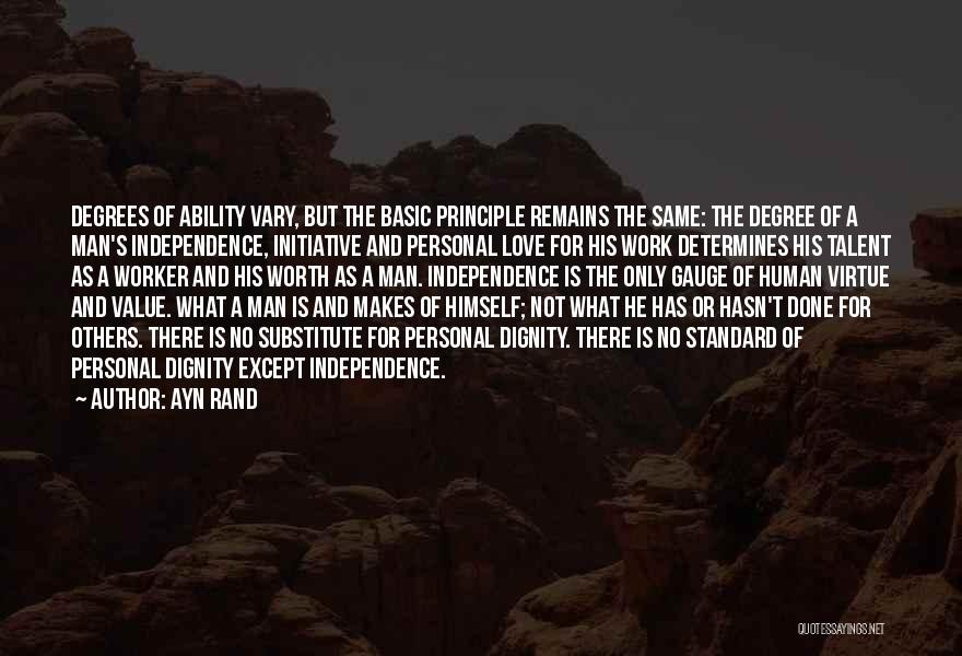 When Only Love Remains Quotes By Ayn Rand