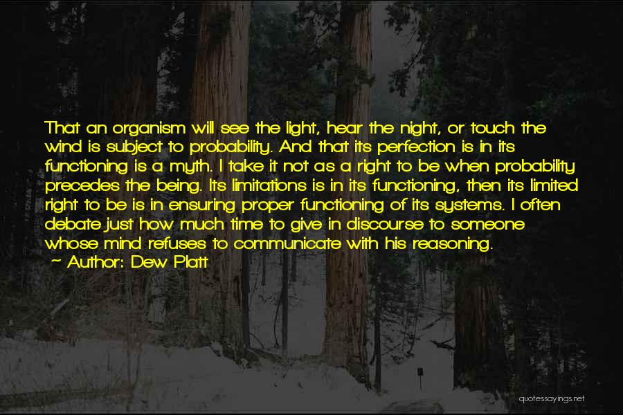 When The Time Is Right Quotes By Dew Platt