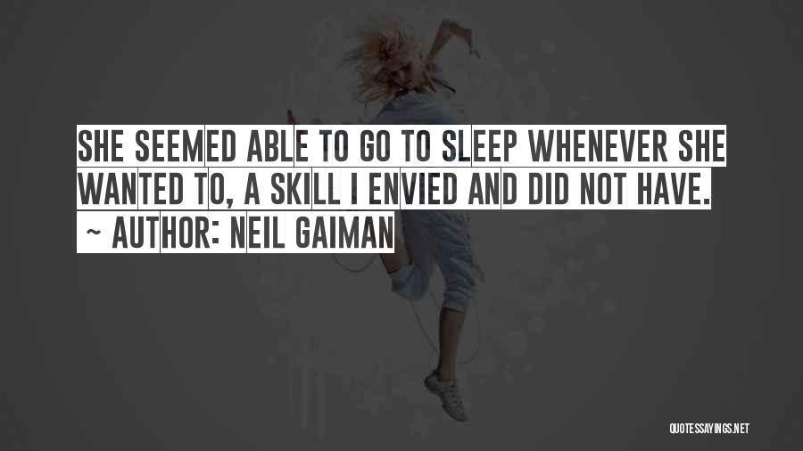 When U Cant Sleep Quotes By Neil Gaiman