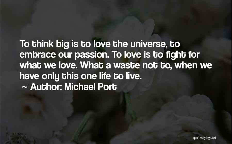 When We Fight Love Quotes By Michael Port