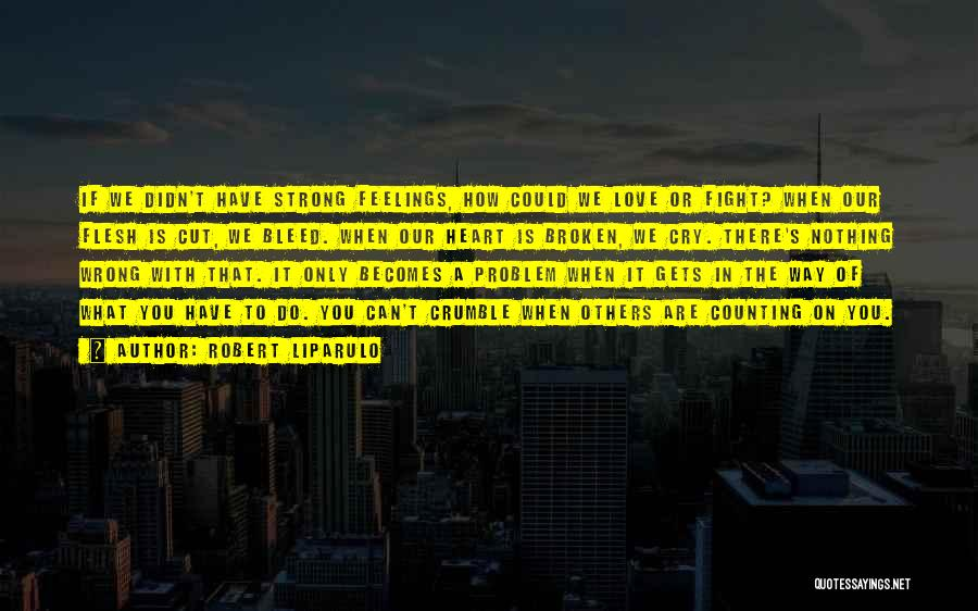 When We Fight Love Quotes By Robert Liparulo