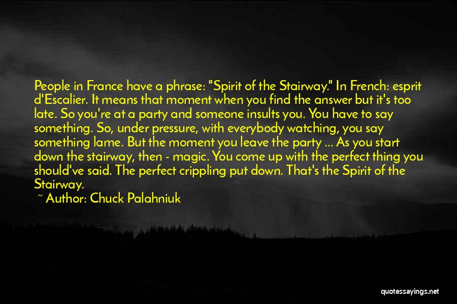 When You Find That Someone Quotes By Chuck Palahniuk