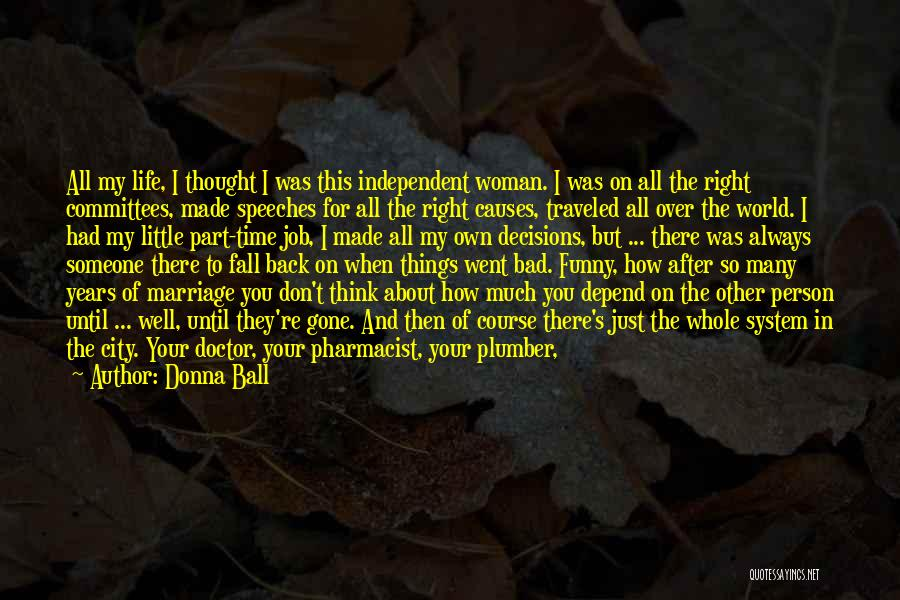When You Find The Right Person Quotes By Donna Ball