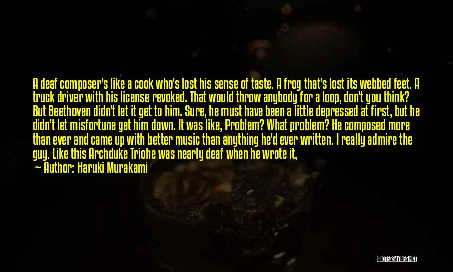 When You Like A Guy Quotes By Haruki Murakami