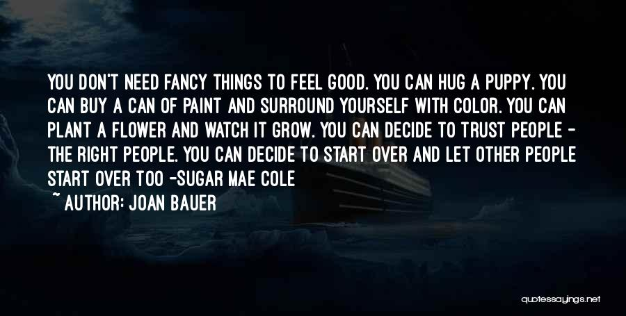 When You Need A Hug Quotes By Joan Bauer