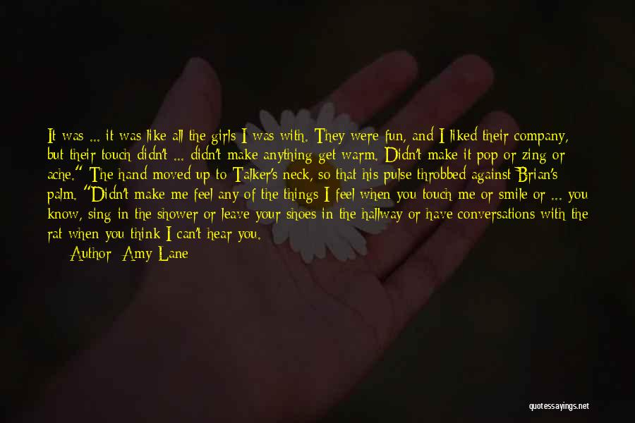 When You Sing To Me Quotes By Amy Lane