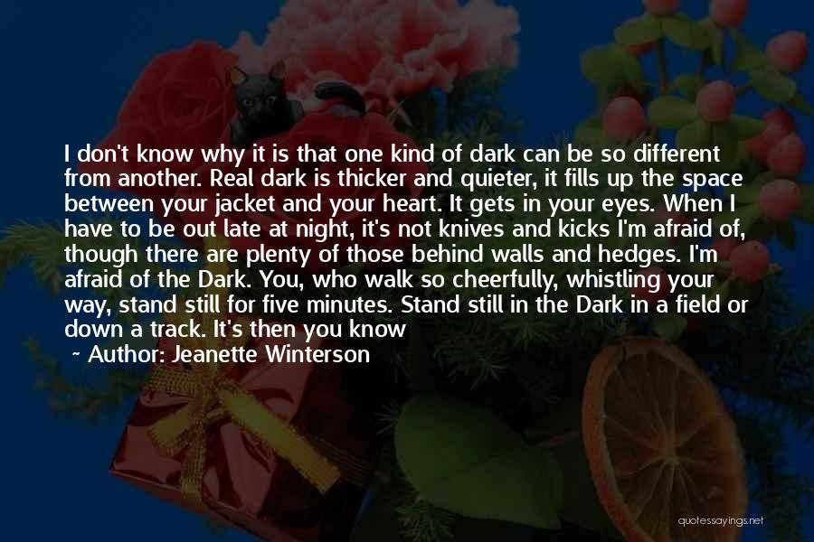 When You Take A Step Back Quotes By Jeanette Winterson